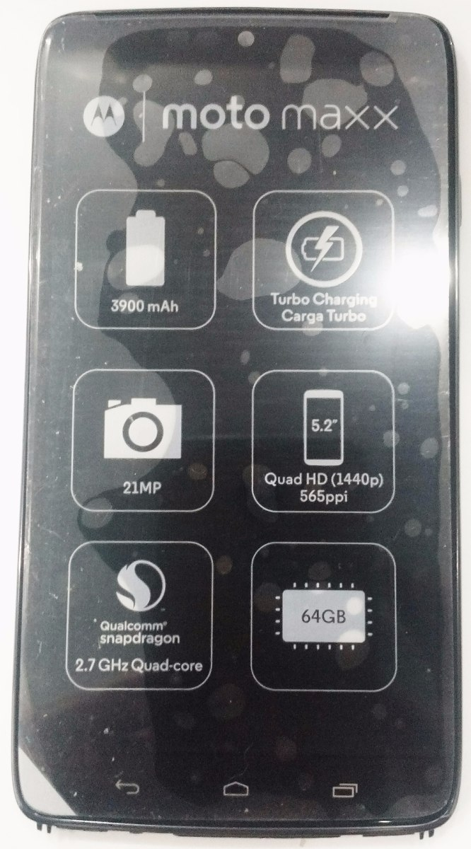 Tela Touch Lcd Display Motorola Xt1225 Moto Maxx Original