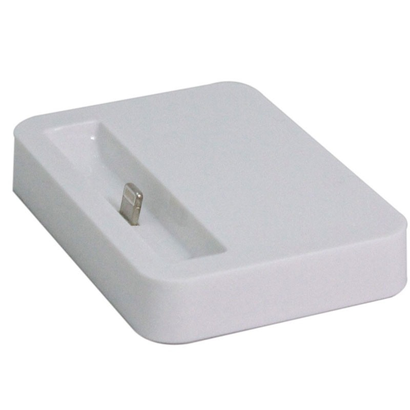 BASE DOCK CARREGADOR LIGHTNING APPLE PARA 5S 5C 6 6S SIMILAR