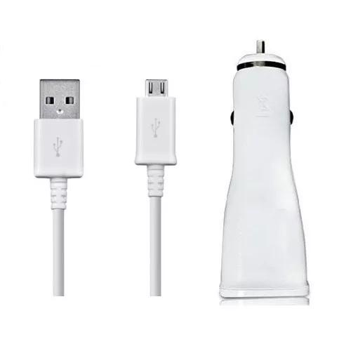 CARREGADOR VEICULAR COM CABO USB SAMSUNG ORIGINAL
