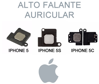 Alto Falante Auricular Voz Apple iPhone 5 / 5S / 5C Original