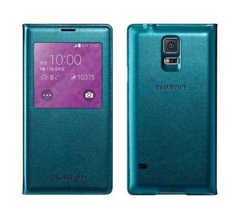 Capa Flip Cover S-view Original Samsung Galaxy S5 I9600