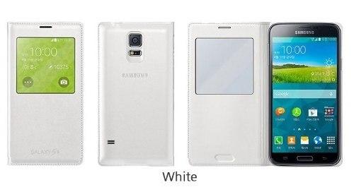 Capa Flip Cover S-view Original Samsung Galaxy S5 I9600