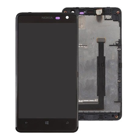Tela Display Lcd Touch Screen Nokia Lumia 625 Original
