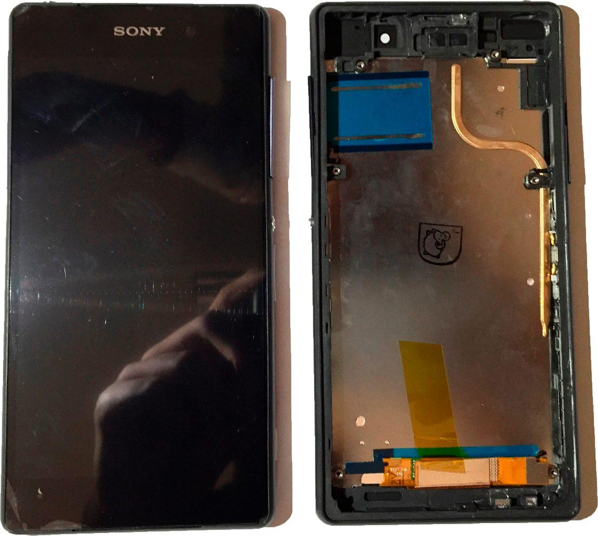 Tela Touch Lcd Sony Xperia Z2 D6502 D6503 D6543 Original