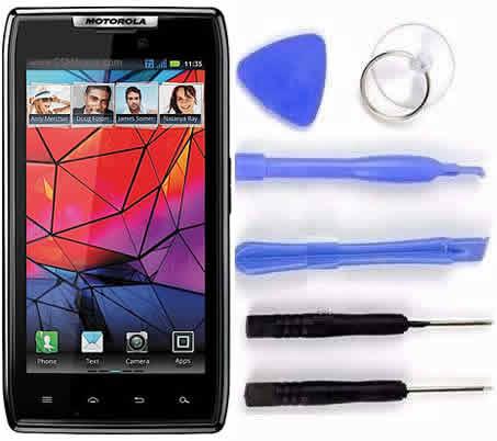 Tela Touch Display Frontal Lcd Motorola Razr Xt910 Original