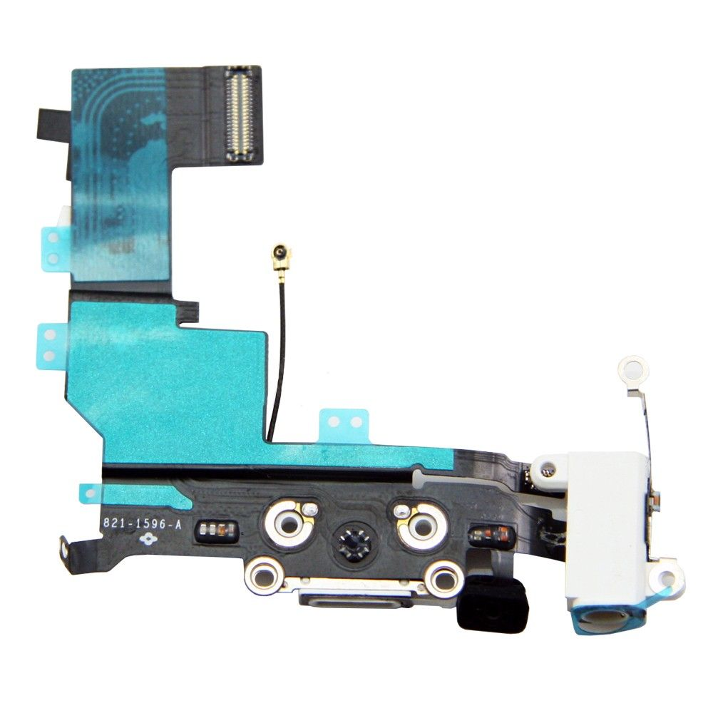 Cabo Flex Conector Dock Carga Audio Antena iPhone 5S Original