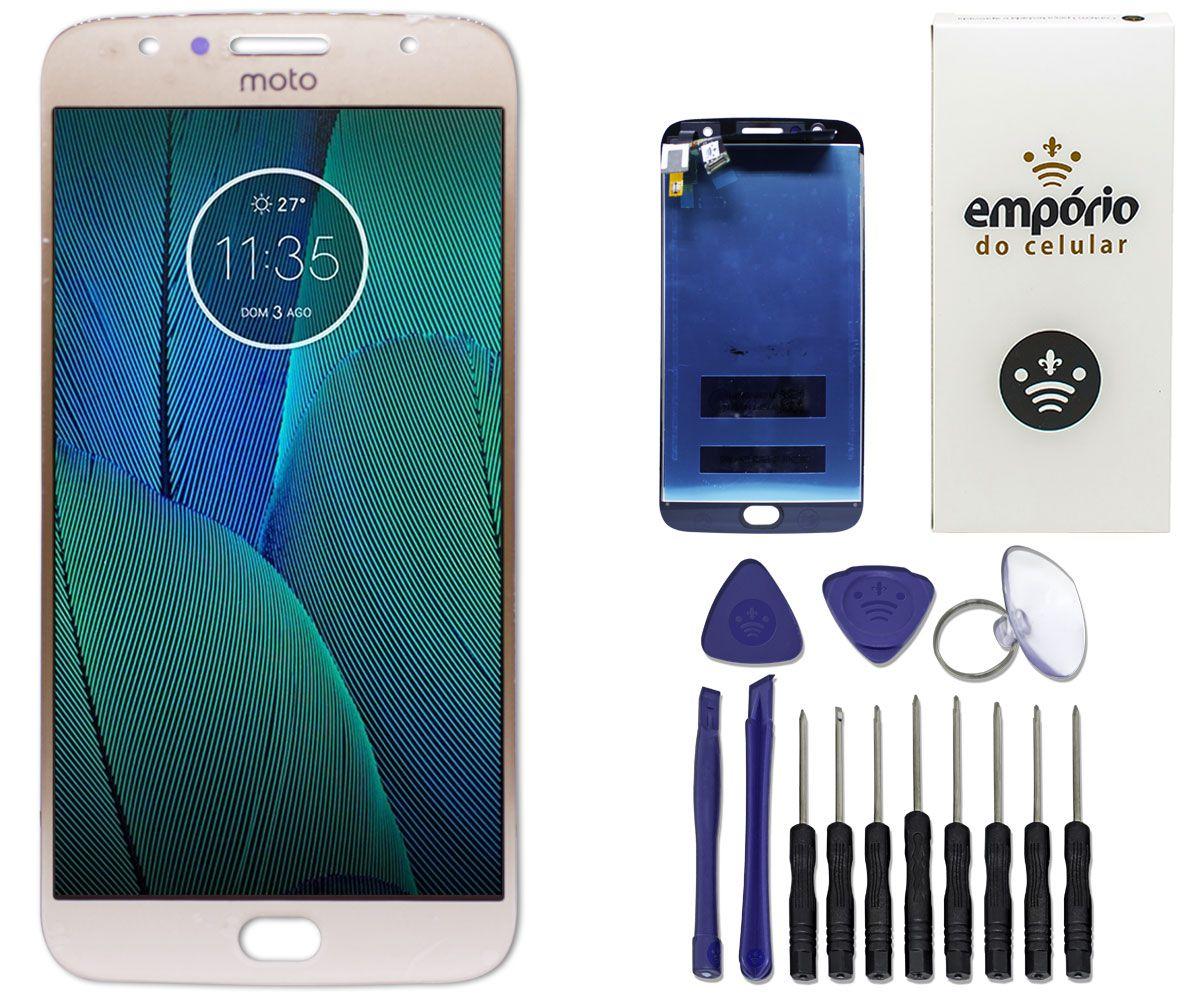 Tela Touch Screen Display LCD Motorola Moto G5S Plus Original