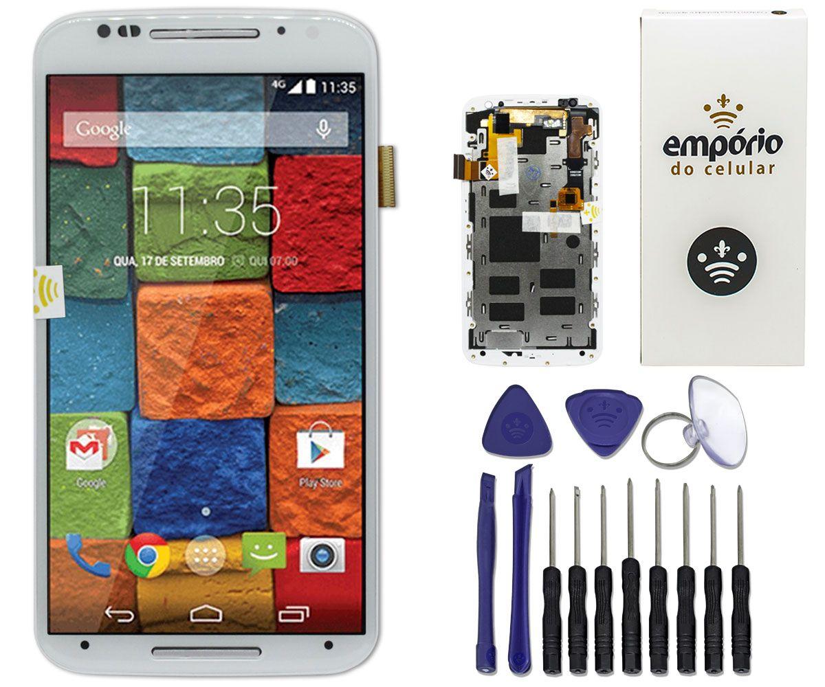 Tela Touch Screen Display LCD Motorola Moto X2 Original