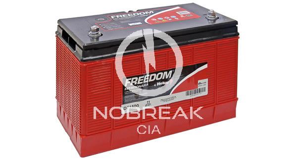 Bateria Estacionária 80 Ah Freedom DF 1500