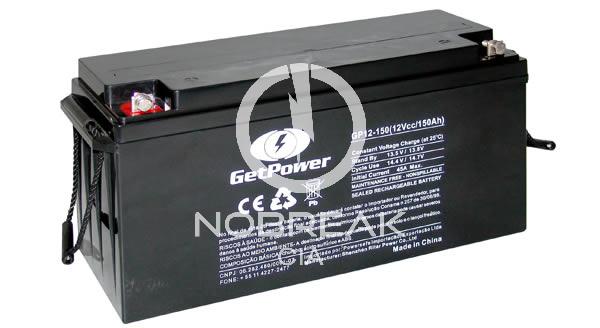 Bateria Selada VRLA 150 Ah Get Power GP12-150