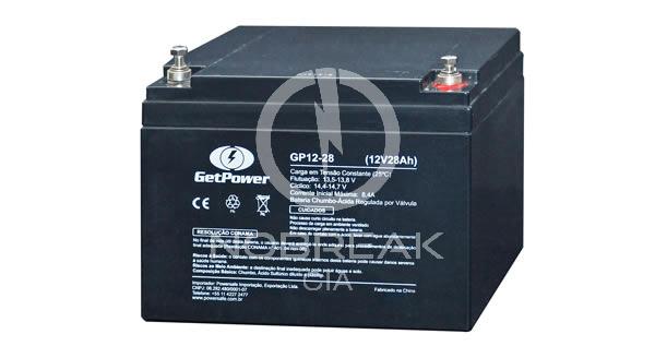 Bateria Selada VRLA 28 Ah Get Power GP12-28