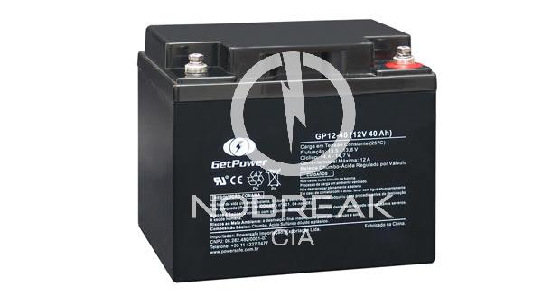 Bateria Selada VRLA 40 Ah Get Power GP12-40