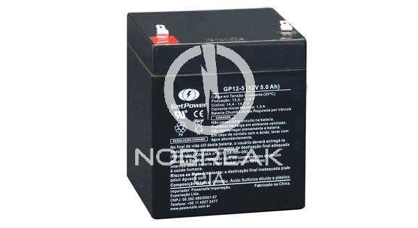 Bateria Selada VRLA 5 Ah Get Power GP12-5