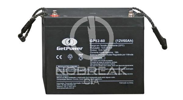 Bateria Selada VRLA 60 Ah Get Power GP12-60 S