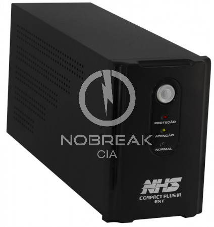 Nobreak NHS Compact Plus Senoidal 700 VA