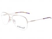 Óculos de Grau Aviador Hickmann AH1236 04C Tam.55