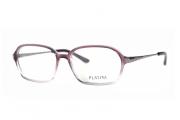 Óculos de Grau Platini Feminino Retrô P93126 Tam.54