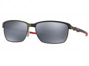 Óculos De Sol Oakley Tinfoil Carbon Scuderia Ferrari polarizado OO6018 06