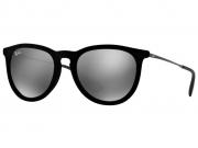Óculos De Sol Ray Ban Erika Velvet Veludo Rb4171 6075 6G Tam.54