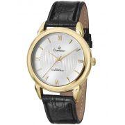 Relógio Champion Feminino Couro Preto CH22724B