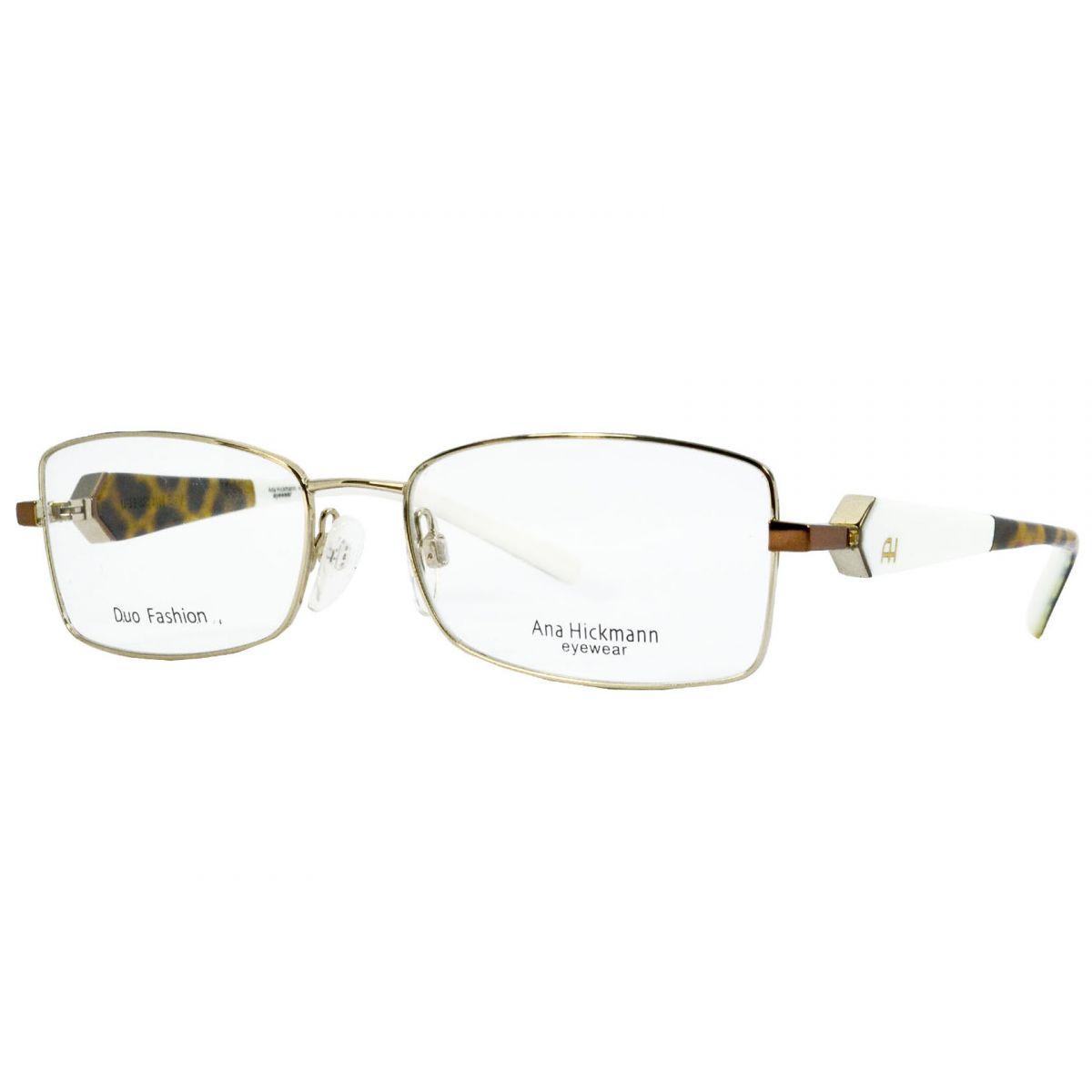 21d9347d95c Óculos De Grau Feminino Ana Hickmann AH1209 04E Tam54