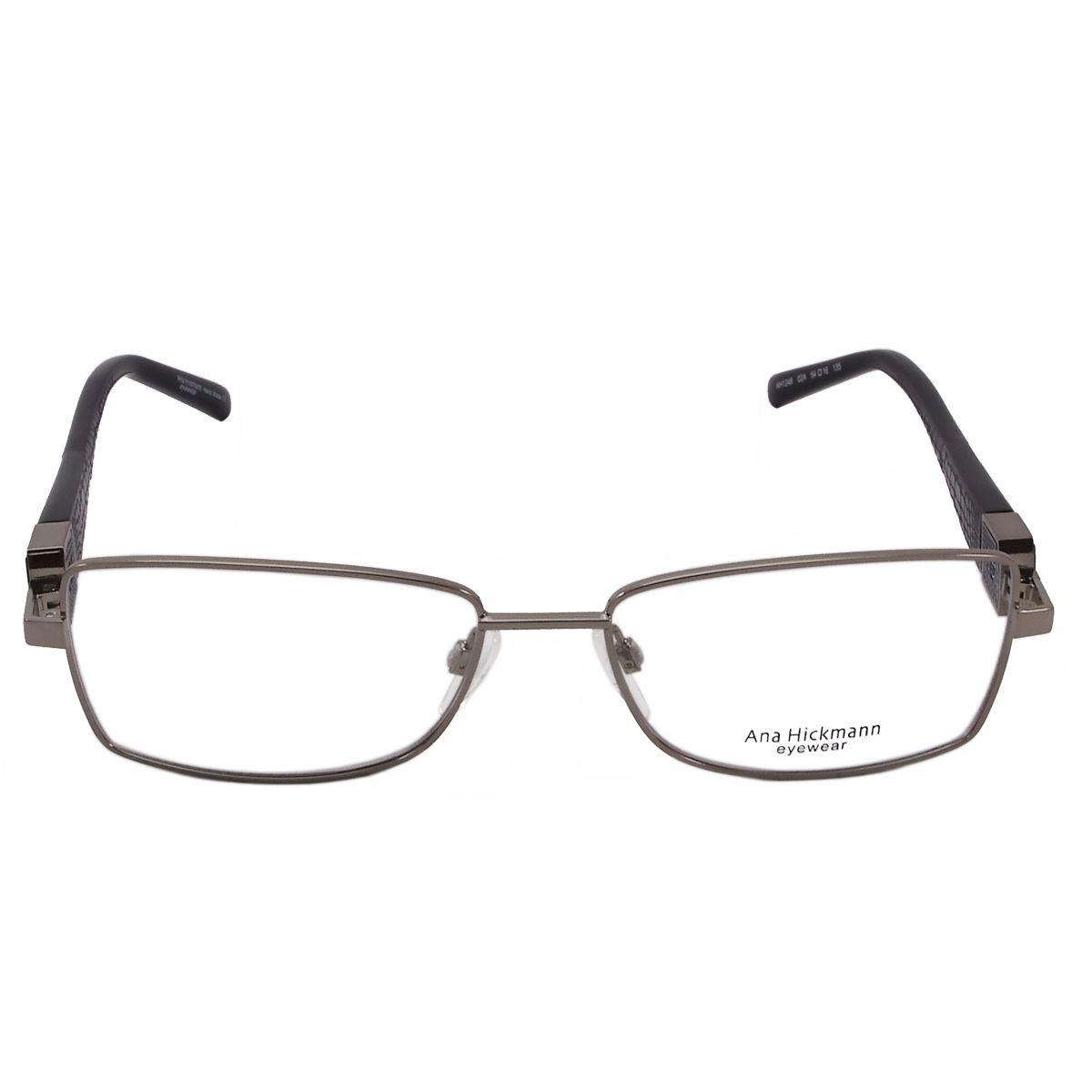 Óculos de grau ana hickmann duo fashion ah1248 02a tam.54ana ...