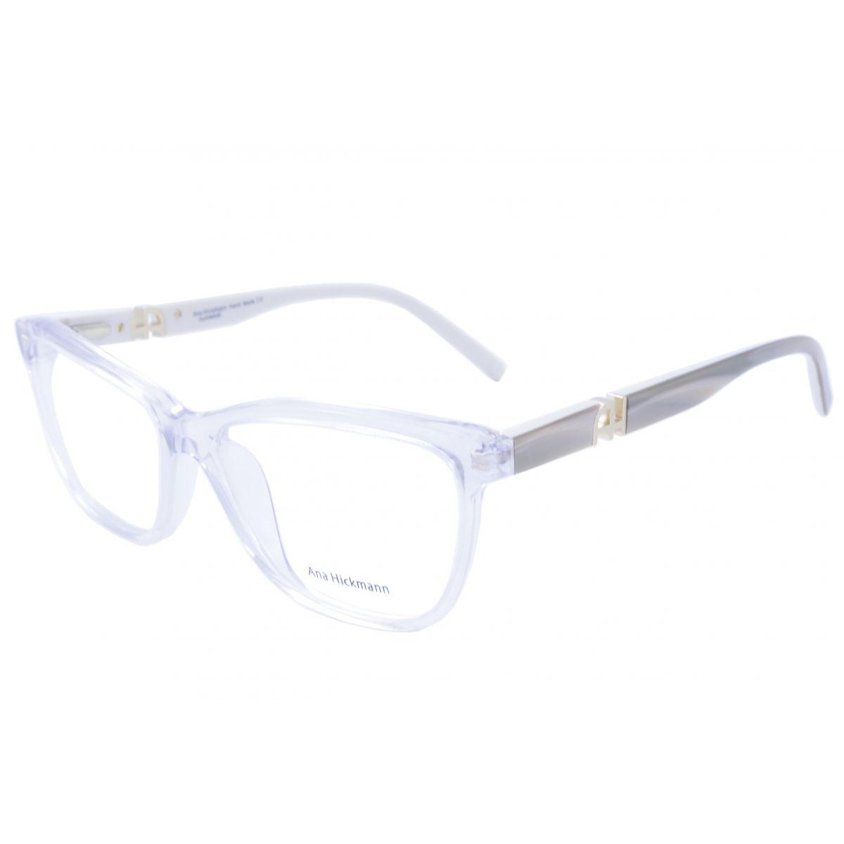 a37a14f2f2b44 Óculos De Grau Feminino Ana Hickmann AH6181 A04 Tam.54Ana Hickmann  OriginalAna Hickmann .. Óculos Ana Hickmann AH6127N branco haste giratória  onça tartaruga