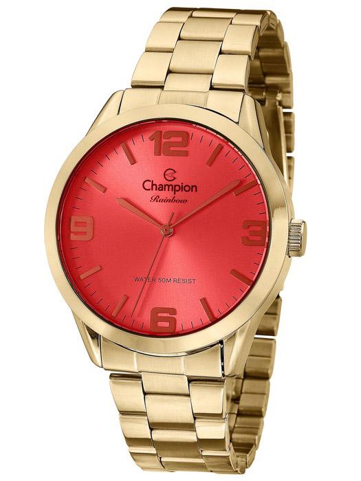 770668572cf9 Relógio Champion Rainbow Vermelho Feminino ...