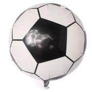 Balão Metalizado Bola de Futebol 45 cm