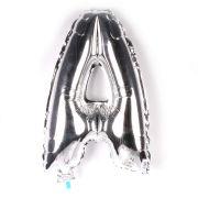 Balão Metalizado Letra A Prata