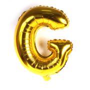 Balão Metalizado Letra G Dourado