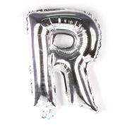 Balão Metalizado Letra R Prata