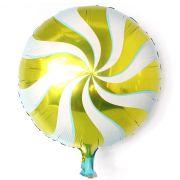 Balão Metalizado Pirulito Colorido