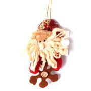 Boneco Papai Noel ou Boneco de Neve com Floco de Neve - Unidade