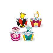 Capa Cupcake Alice no País das Maravilhas 12un