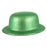 Cartola Plástica Com Glitter Verde