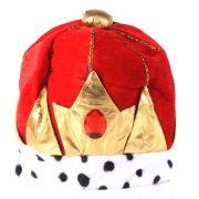 Chapéu Rei de Tecido