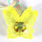 Colar Pisca Borboleta Transparente