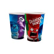 Copo Papel 180Ml Divertida Mente 8Un
