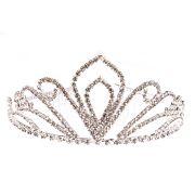Coroa de Princesa Luxo com Strass