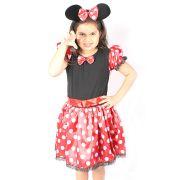 Fantasia Infantil Menina Mouse