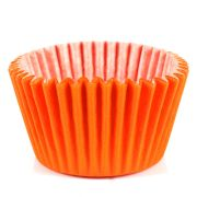 Forminha Cupcake Laranja 45Un
