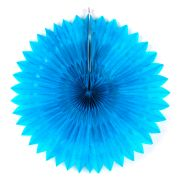 Guirlanda De Papel Girassol Azul