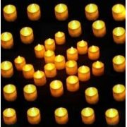 Kit 48 Velas Led Decorativa Para Festas