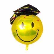 Kit 6 Balão Metalizado Smile Formatura