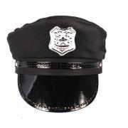Kit Com 5 Quepes Policial Boina Farda Fantasias Festas