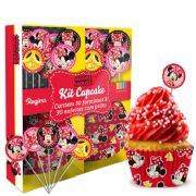 Kit Cupcake Minnie 30Un