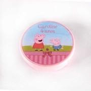 Lembrancinha Potinho Plástico Personalizado Peppa Pig