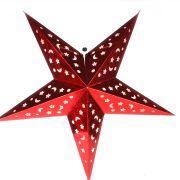 Luminária Grande Estrela Vermelha