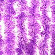 Marabu Sintético Com Fios Metalizados Lilás